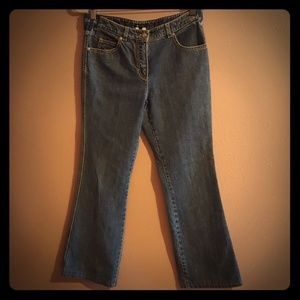 Escada blue jeans size 36